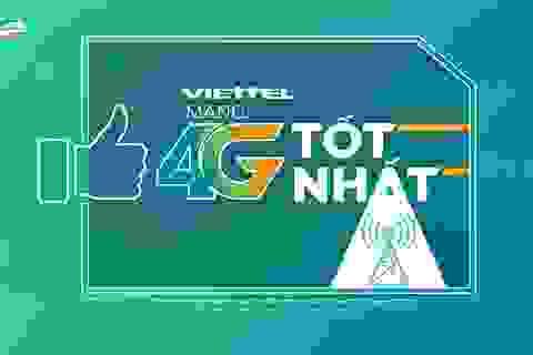 Kết quả đo kiểm 4G mới: Tốc độ Viettel nhanh nhất trong các nhà mạng