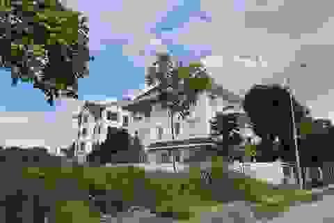 Bắc Ninh: Xây chình ình biệt thự không phép trên đất giáo dục đào tạo