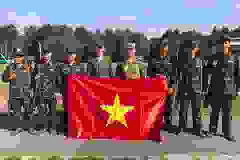 Đội tuyển Bắn tỉa Quân đội nhân dân Việt Nam xuất sắc vào nhóm A1