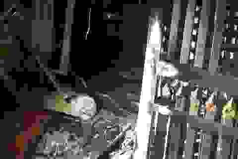 Thượng úy công an mưu trí cứu cả nhà 5 người thoát khỏi đám cháy