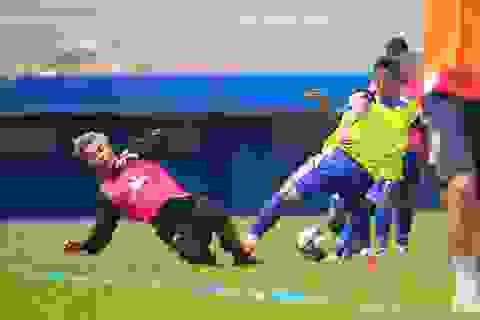Thủ môn Bùi Tiến Dũng tìm cơ hội trở lại đội tuyển Việt Nam