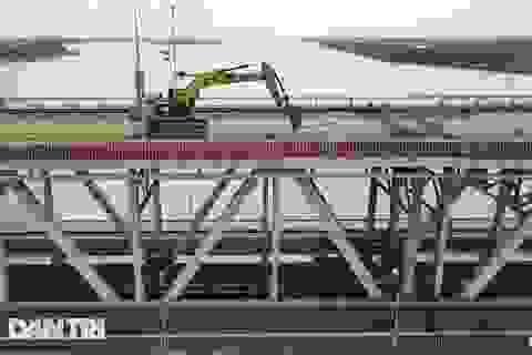 Sửa cầu Thăng Long quy mô lớn nhất từ trước tới nay, kỹ hơn cả xây mới