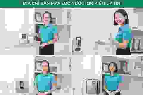 Review top 10 máy lọc nước ion kiềm bởi chuyên gia nước Enterbuy
