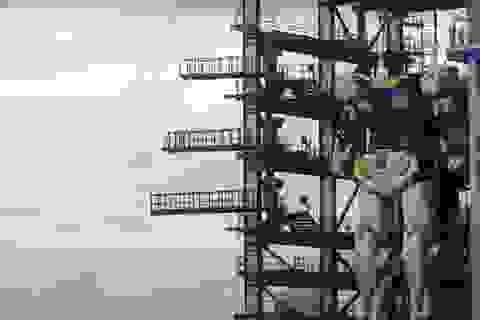 Xem robot cao 16 mét ở Nhật Bản tập đi