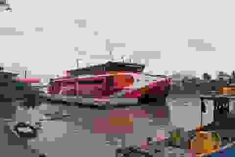 Vụ sạt lở bờ sông Hậu: Tàu cao tốc Cần Thơ - Côn Đảo tạm ngừng hoạt động