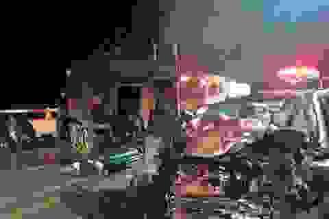 Va chạm với xe bọc thép của Mỹ, 4 người Hàn Quốc tử vong