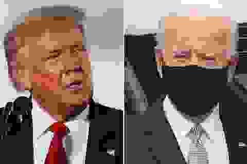 Bầu cử Mỹ: Ông Trump thu hẹp cách biệt, bám sát ông Biden
