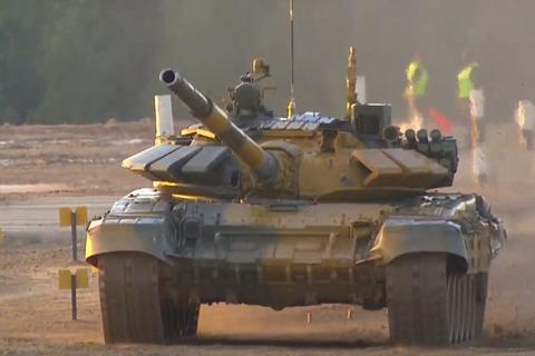 Đội xe tăng Việt Nam cán đích sau Myanmar trong trận bán kết Army Games