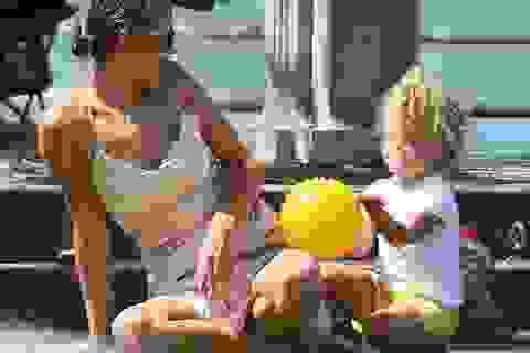 Irina Shayk lại xuất hiện bên bồ cũ của Heidi Klum