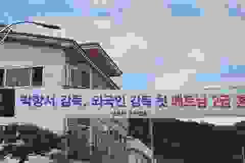 Quê nhà chúc mừng HLV Park Hang Seo nhận Huân chương Lao động của Việt Nam