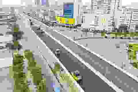 Dự án đường trên cao đẹp nhất Hà Nội thông xe trước ngày 10/10