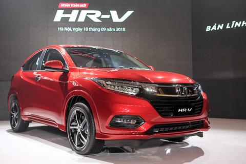 """Giảm hơn 100 triệu, Honda HR-V quyết """"ăn thua"""" với Hyundai Kona, KIA Seltos"""