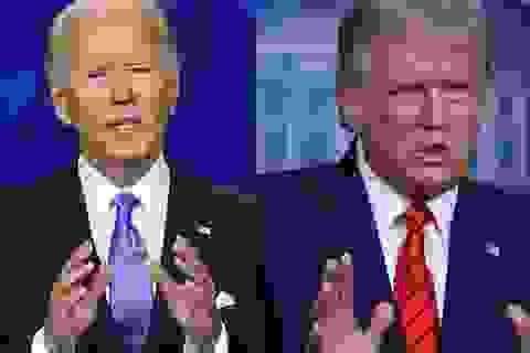 """Ông Trump tin """"có những người trong bóng tối"""" điều khiển Joe Biden"""