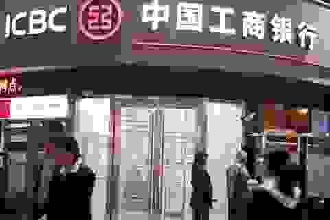Năm ngân hàng Trung Quốc công bố lợi nhuận giảm mạnh nhất trong 1 thập kỷ