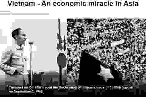 """Báo nước ngoài gọi Việt Nam là """"phép màu kinh tế ở châu Á"""""""