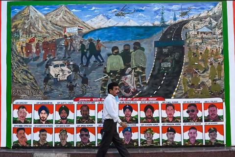 Binh sĩ Ấn Độ tử vong trong vụ đụng độ với Trung Quốc ở biên giới