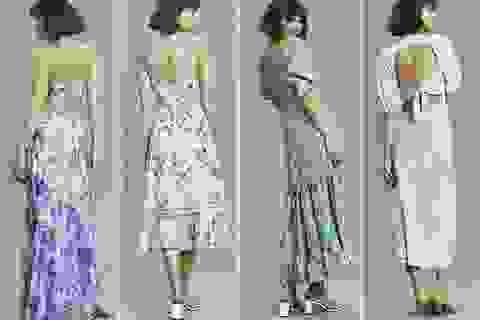 """Mốt váy áo """"kịch tính lúc quay lưng"""" gây sốt"""