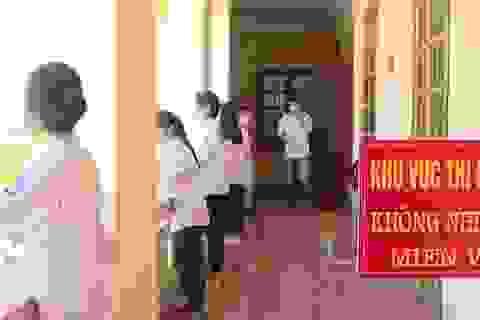 56 thí sinh từ 5 tỉnh/thành dự thi tốt nghiệp THPT đợt 2 tại Thái Bình