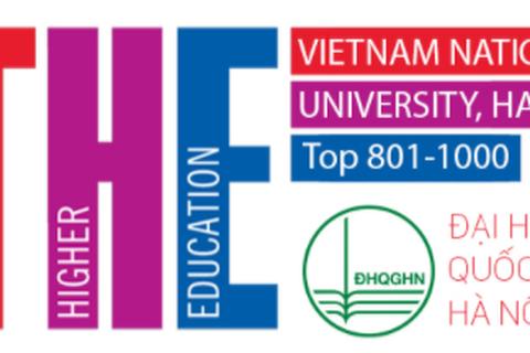ĐH Quốc gia Hà Nội tiếp tục vào nhóm 801-1000 bảng xếp hạng thế giới THE