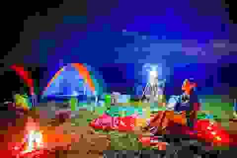 """""""Bí kíp"""" cắm trại thả ga ở hồ Dầu Tiếng chỉ hơn 200.000 đồng"""