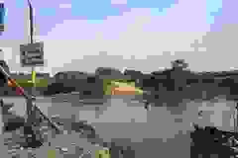 """Dòng sông bị doanh nghiệp ngang ngược """"chặt đôi"""" tại xứ Lạng được giải cứu"""