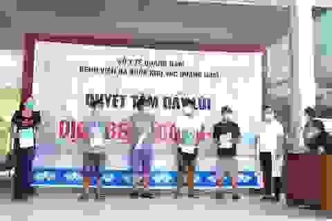 Thêm 13 bệnh nhân mắc Covid-19 ở Quảng Nam ra viện