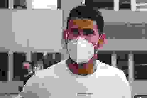 Tiền đạo Diego Costa dương tính với SAR-CoV-2