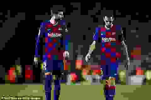 HLV Ronald Koeman tính chọn Pique làm thủ quân Barcelona