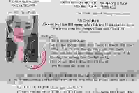Truy tìm nữ công dân trốn cách ly y tế, phòng chống  dịch Covid-19