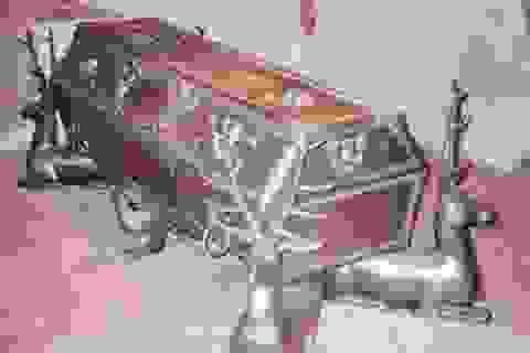 Đại gia lập dị: Chi tiền tỷ mua quan tài, xây lăng mộ chờ ướp xác mình