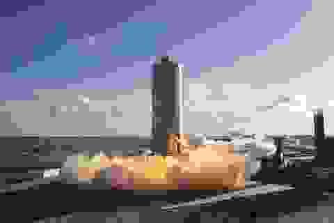 SpaceX bay thử nghiệm nguyên mẫu tên lửa Starship SN6