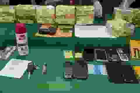 Bắt giữ 8 đối tượng người Lào mua bán, vận chuyển 10kg ma túy