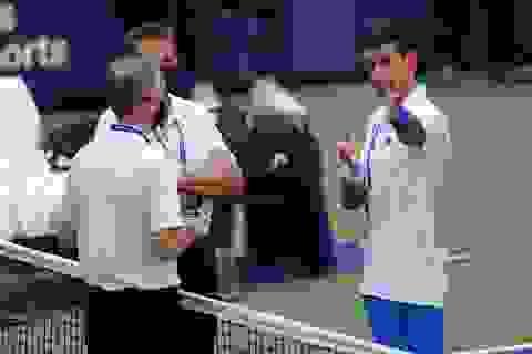 """Trọng tài giải đấu US Open: """"Không có lựa chọn khác dành cho Djokovic"""""""