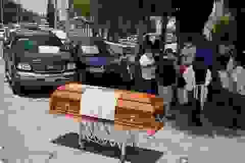 Mexico cạn kiệt giấy chứng tử giữa lúc số ca Covid-19 tăng vọt