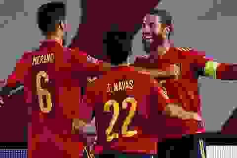 Sergio Ramos và Ansu Fati cùng lập kỷ lục khó tin ở đội tuyển quốc gia