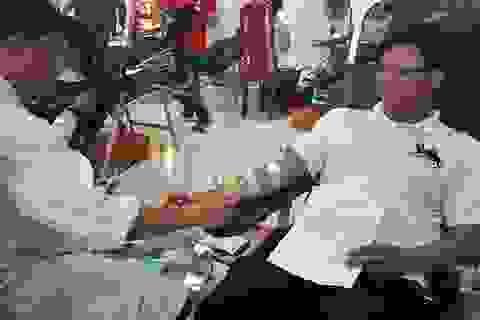 Chuyện về thầy giáo trường y, 11 năm 22 lần hiến máu