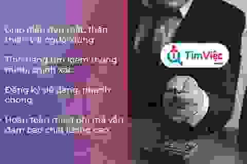 Tìm việc làm lương cao cực dễ với Timviec.com.vn