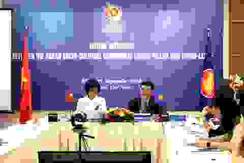 Hội nghị trực tuyến của Cộng đồng văn hóa - xã hội ASEAN với Đông Timor