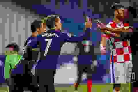 Pháp tái hiện kết quả chung kết World Cup 2018 trước Croatia