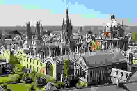 Đại học Oxford đứng đầu danh sách những đại học tốt nhất thế giới