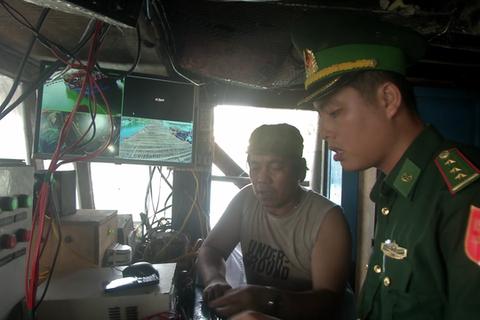 2 ngư dân bị phạt gần 200 triệu đồng vì tắt giám sát hành trình