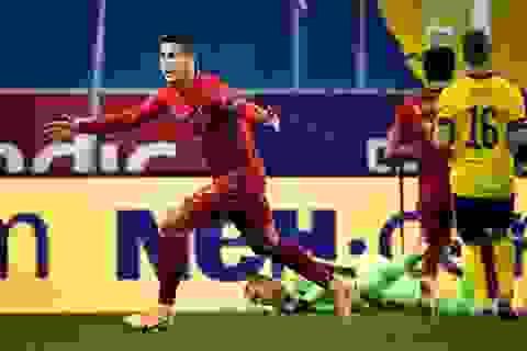 C.Ronaldo lập kỷ lục 100 bàn thắng cho đội tuyển quốc gia