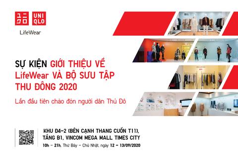 Sự kiện độc đáo của Uniqlo lần đầu tiên mở cửa đón công chúng Hà Nội