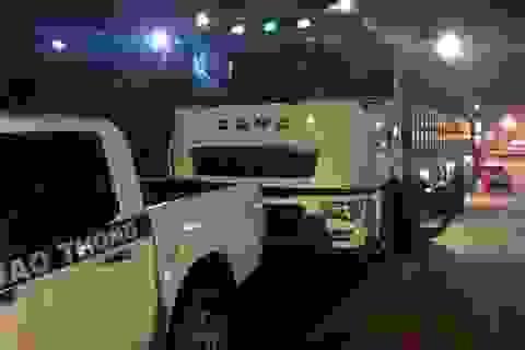 CSGT Đồng Nai ra quân xử lý xe quá tải lộng hành đêm khuya