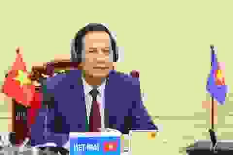 """Bộ trưởng Đào Ngọc Dung: """"Tăng cường hợp tác quốc tế về lao động việc làm"""""""