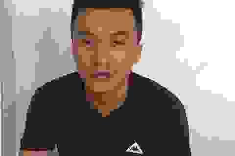 Bắt được nghi can đâm nhân viên shop quần áo cướp tài sản