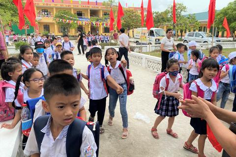Ninh Bình: Nhiều học sinh đã trở lại trường sau khi phụ huynh phản đối