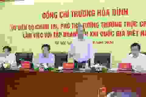 Phó Thủ tướng Thường trực Trương Hòa Bình làm việc với Tập đoàn Dầu khí