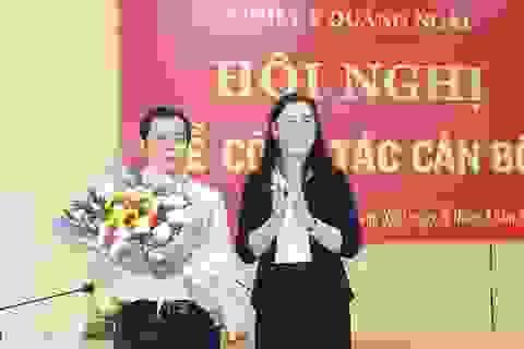 Trưởng Ban Tổ chức Tỉnh ủy Quảng Ngãi được bầu làm Phó Bí thư Tỉnh ủy