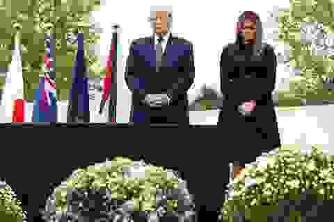 Ông Trump ca ngợi 40 người hùng đối đầu những kẻ khủng bố vụ 11/9